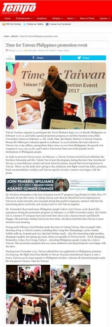 Tempo Philippines Newspaper